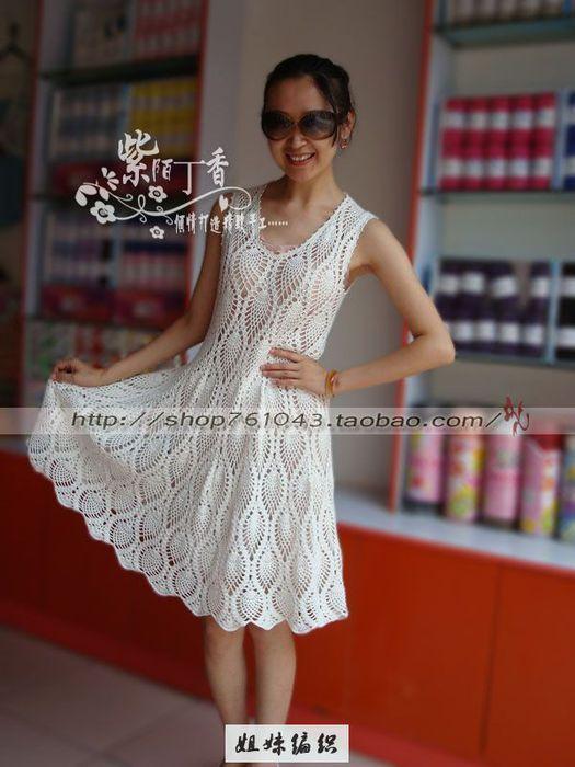 970 Best Images About Crochet Dresses On Pinterest