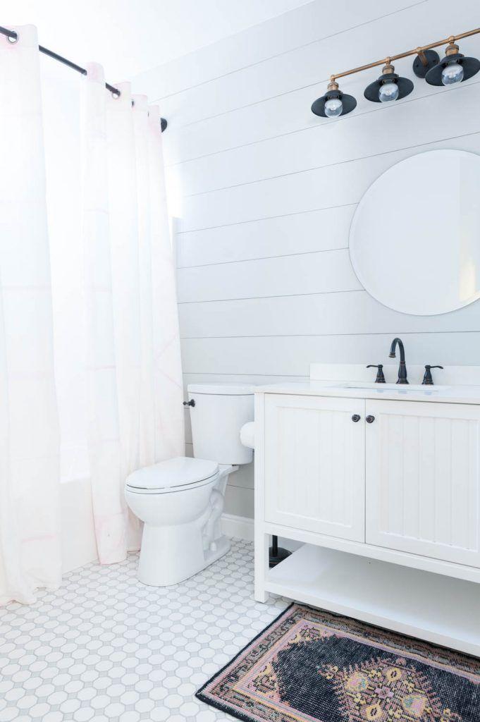 grey and white bathroom renovation reveal remodeling ideas rh pinterest com Bathroom White Design DIY Bathroom Renovations