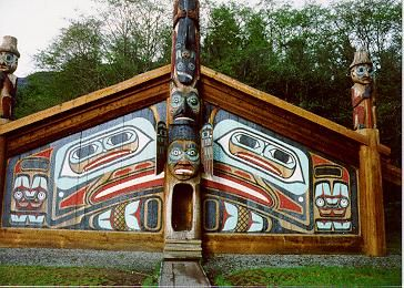 Tlingit Indian Clan House Spirit Needs A Place