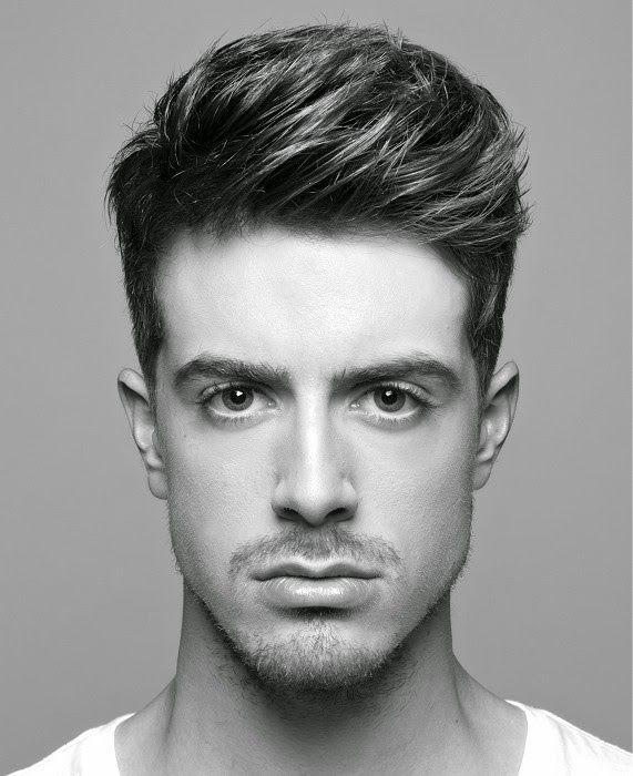 corte de cabella para hombres con rostro tipo triangular - Buscar con Google