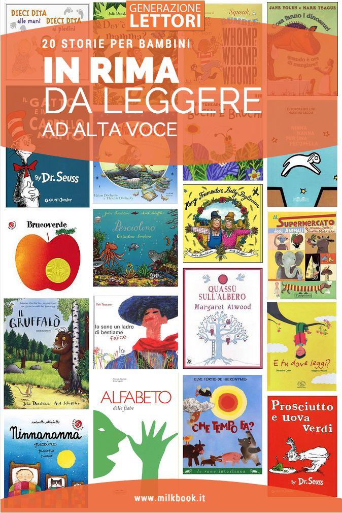 20 storie in rima ideali per la lettura ad alta voce ai bambini #storieperbambini #rimeperbambini #libriperbambini
