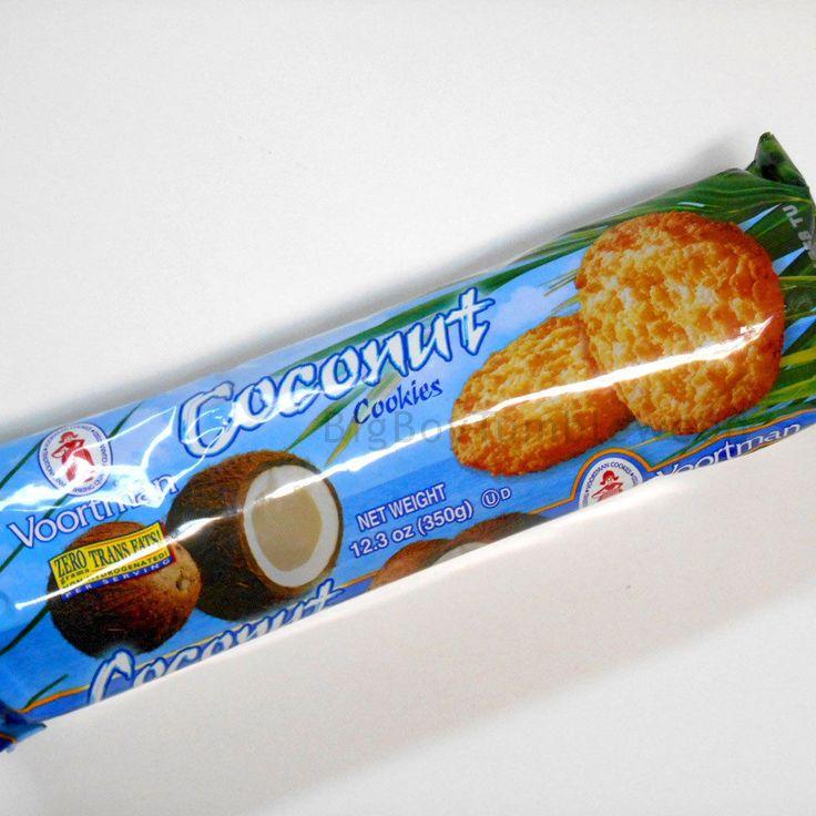 Voortman Coconut Cookies 12.3 oz Coffee or Tea biscuit snack food classic sweet #Voortman #BigBoyTumbleweed