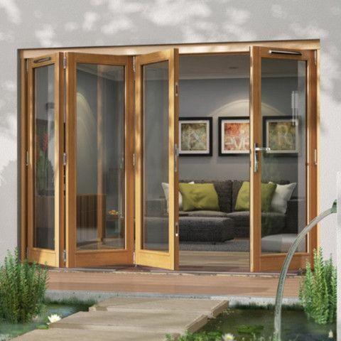 Bi-Fold External Folding Doors