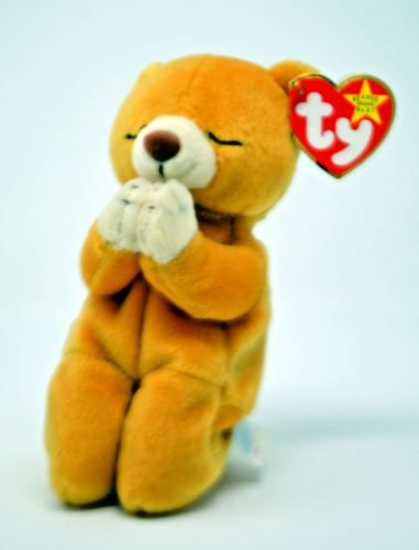 194c416c1e6 Ty-Beanie-Baby-Hope-the-praying-bear-1999-Retired
