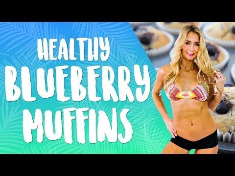 Healthy Blueberry Muffins - YouTube