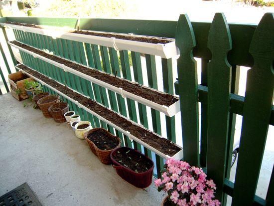 Best 25 Gutter Garden Ideas On Pinterest Strawberry
