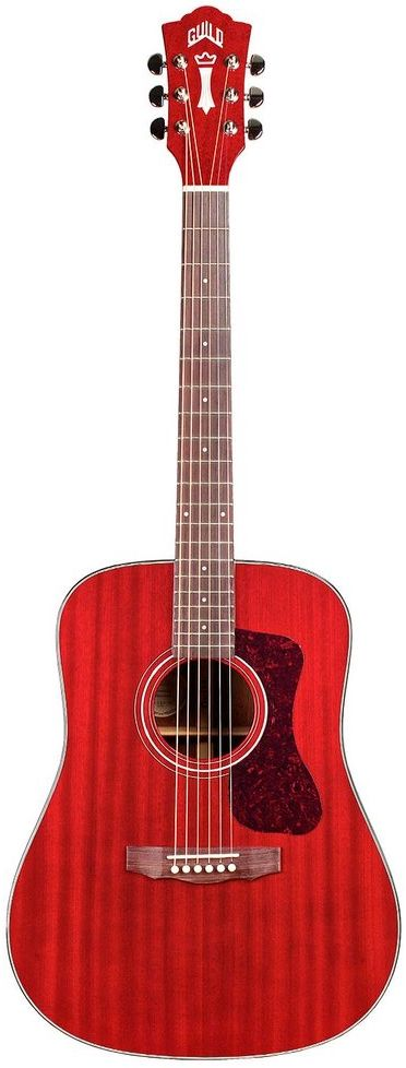 Guild Westerly Collection D-120 Acoustic Guitar. The D-120 is a great example of what keeps the Guild brand alive - having impressive specs at accessible price points with Guild's characteristic old school appeal.