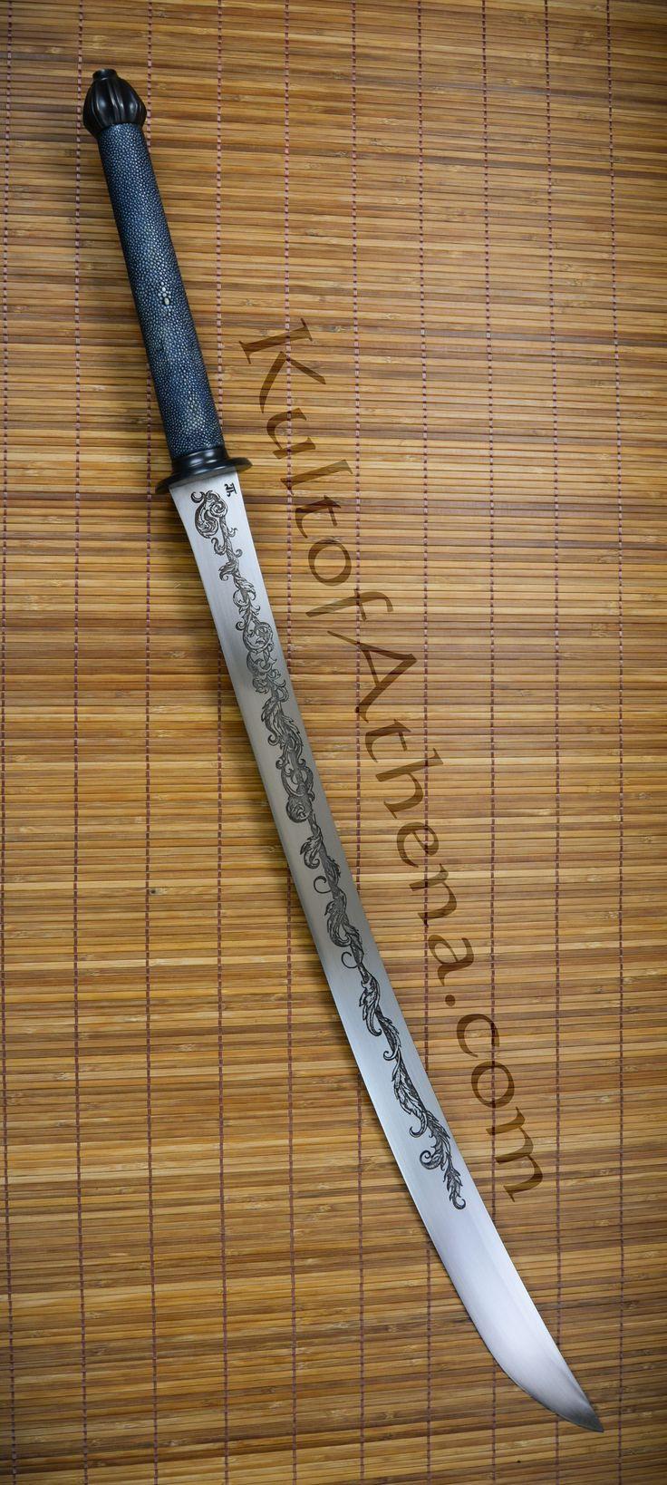 Longship Armoury - The Mandate - Custom Fantasy Dha Sword