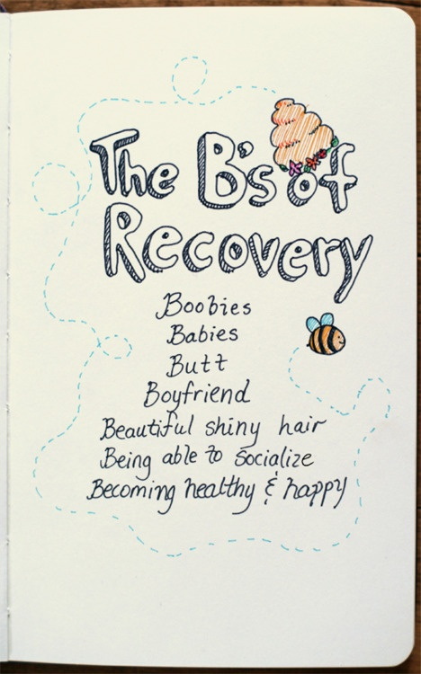 everything but 'boyfriend', anyone can be sick, or healthy and have a boyfriend... it should not be a reason to recover.. in my opinion anyway.