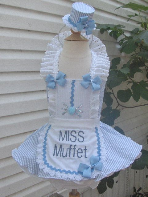 halloween miss muffet pageant wear by tocute on Etsy