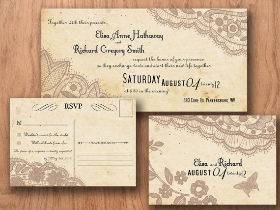 Best FranS Wedding Invitations Images On