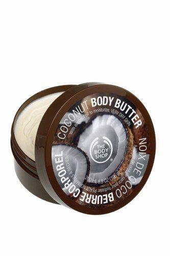 Kokosowe masło do ciała #bodyshop #butter #coconut