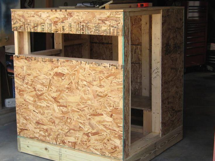 59 best hunting blinds images on pinterest for Box blind blueprints