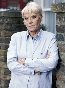 Wendy Richard, MBE (born Wendy Emerton, 20 July 1943 – 26 February 2009)[2] was an English actress best known for playing the roles of Miss Shirley Brahms on Are You Being Served? and Pauline Fowler on EastEnders, the latter for nearly 22 years. (Guest Just A Minute)
