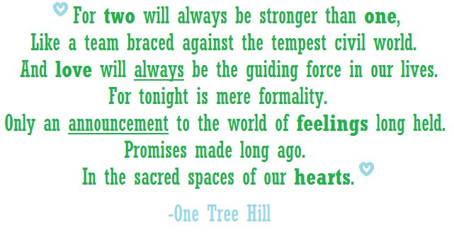 64 Best OTH Quotes Images On Pinterest