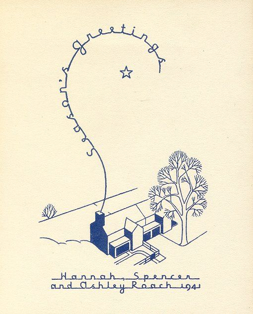 """<a href=""""http://philly.curbed.com/archives/2015/12/23/vintage-holiday-greeting-cards-penn-design-alumni-architects.php"""">Behold, Rad Vintage Holiday Cards Designed by Architects</a> 