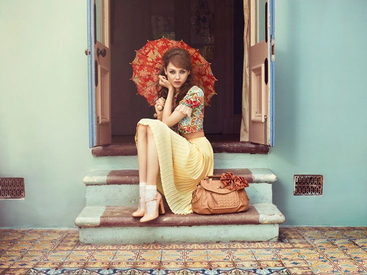 Rebecca Miller captures romantic style for Nica SS13 | Shoot | Photographers Agent London