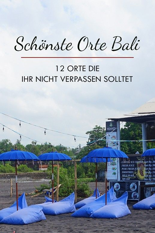 Bali ist eine wunderbare Insel in Indonesien. In diesem Beitrag findet ihr die 12 schönsten Sehenswürdigkeiten und Things to do. Egal ob Canggu, Ubud, Temple oder vm.  (Beaches, Paradise, Activites, Tips, Bucket List, Couple, Honeymoon, Adventure)