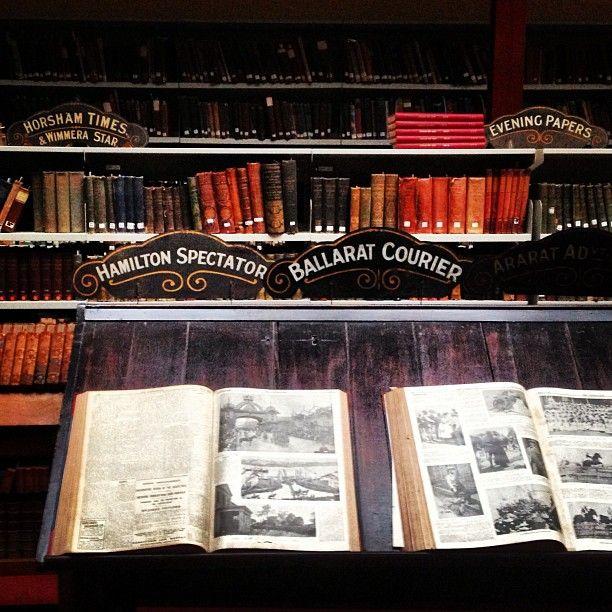 Mechanics Institute heritage library Ballarat #library #bookporn #books #ballarat