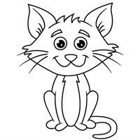 Kiddoland: Kolorowanka Kot