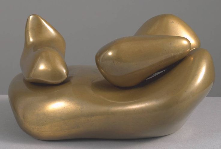 Jean Arp (Hans Arp), Sculpture to be Lost in the Forest, 1932 Bronze