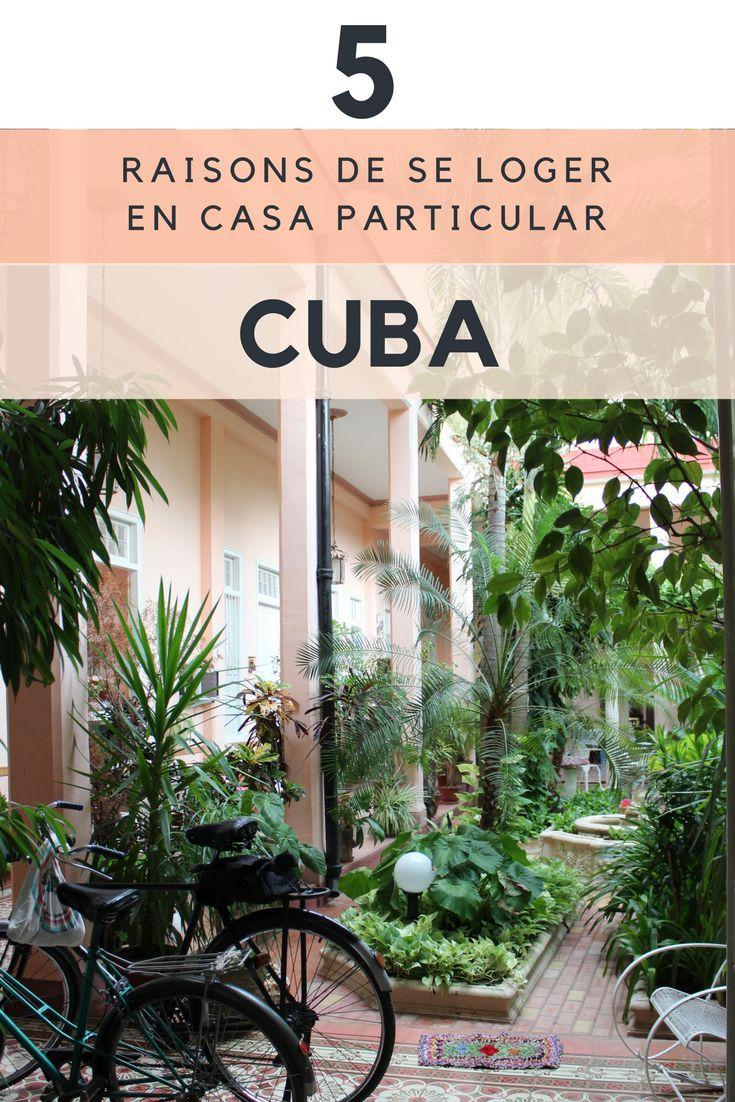 Dormir chez l'habitant à Cuba (casa particular)