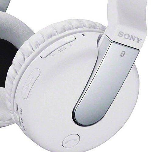 Fone de Ouvido Sony Supra Auricular Bluetooth Branco - DR-BTN200/WCCE7