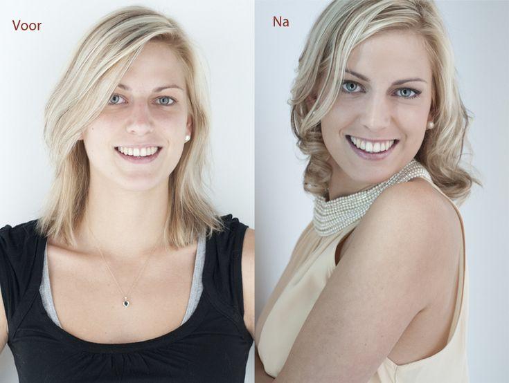 Glamour fotografie photography before & after:  het leukste uitje voor vrouwen! www.willemhoogendoorn.nl ( Sue Bryce inspired )