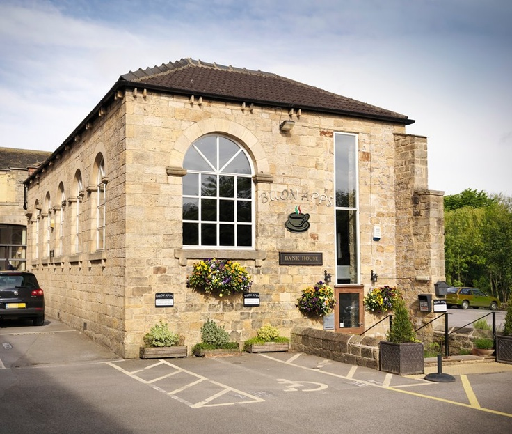 Pretty Places Leeds: Outside Our Beautiful Restaurant With Picturesque Views By