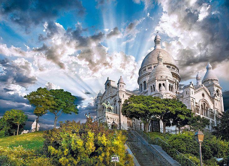 Clementoni Puzzle 1000 Teile Montmartre (39383) Paris Frankreich Basilika in Spielzeug, Puzzles & Geduldspiele, Puzzles | eBay! | http://nextpuzzle.de/detailview/puzzle-montmartre/224