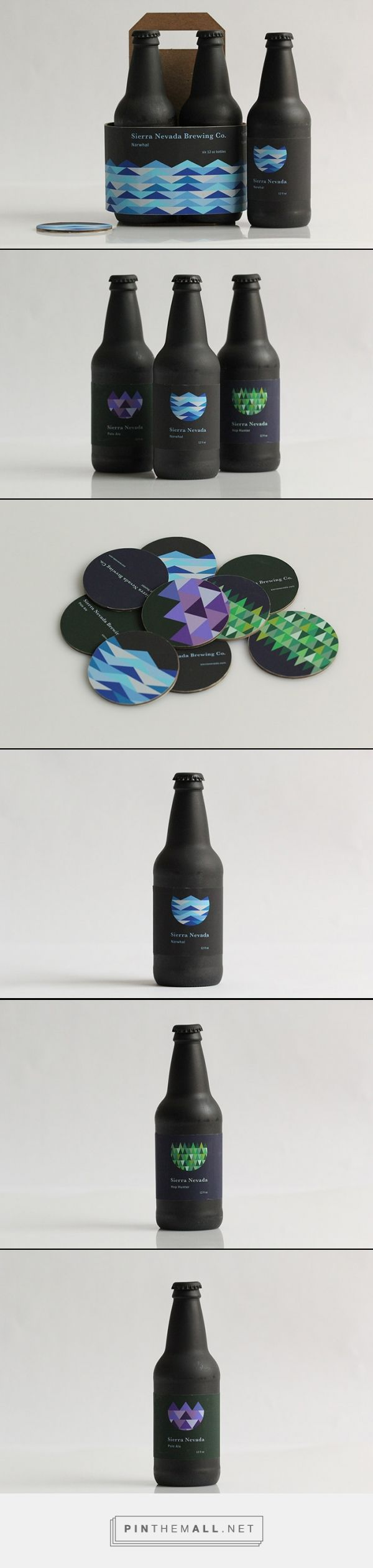 Sierra Nevada Rebrand - Daily Package Design InspirationDaily Package Design Inspiration