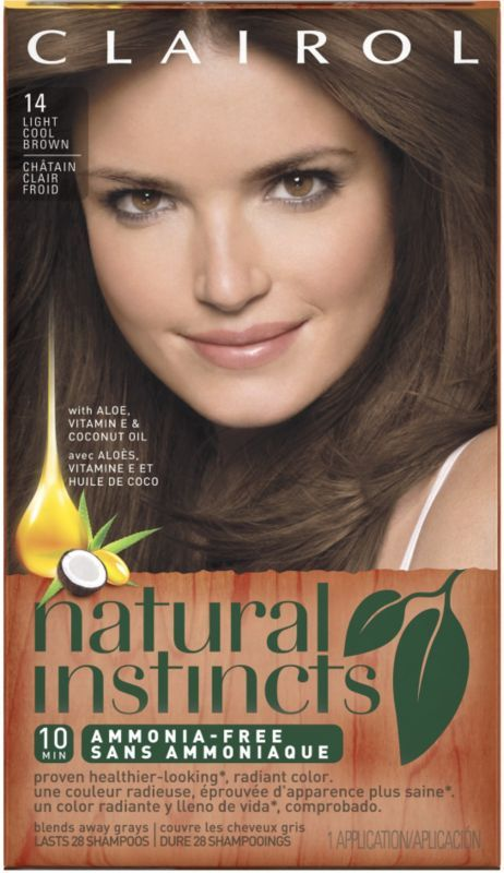 Clairol Clairol Natural Instincts 14 Tweed (Light Cool Brown) Ulta.com - Cosmetics, Fragrance, Salon and Beauty Gifts