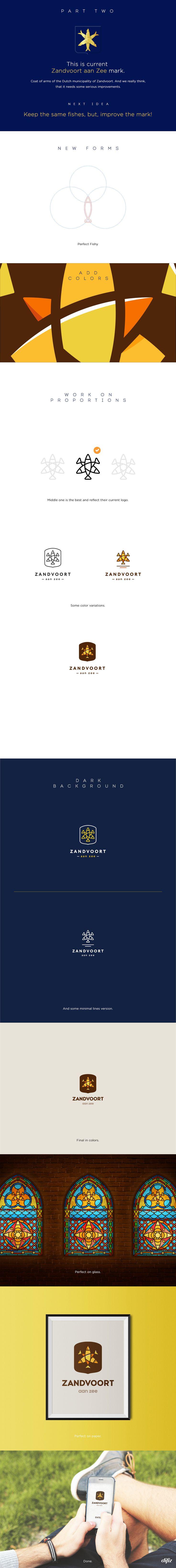 Zandvoort aan Zee — city branding project on Behance
