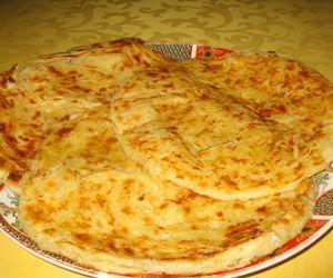 M Semen (marokkanische Pfannkuchen)