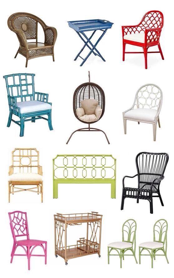M s de 25 ideas incre bles sobre muebles de mimbre - Muebles de mimbre pintados ...