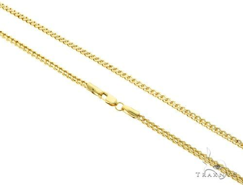 10k Yellow Gold Franco Link Chain 22 Inches 2mm 5 2 Grams 61593 Gold Gold Chains For Men Chains For Men