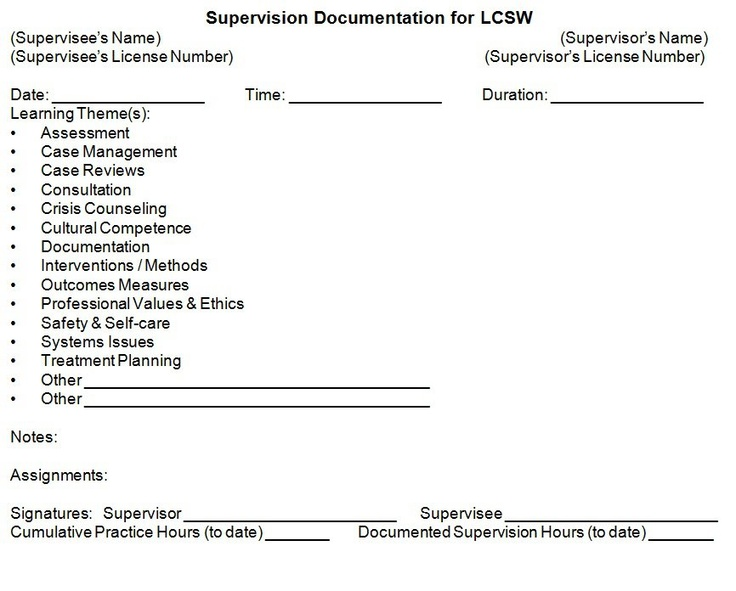 68 best supervision images on Pinterest Social work, Counselling - supervisory social worker sample resume
