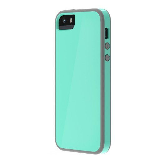 Amazon.com: Skech Glow for iPhone 5 & 5s - White/Blue: Cell Phones & Accessories