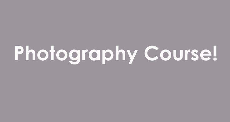 take a photography course