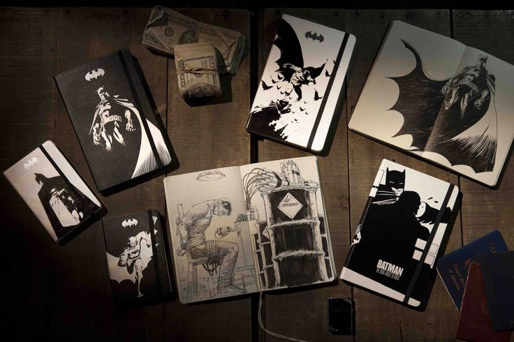 Lee, Miller and more cover new Moleskine Batman collection | Robot ...
