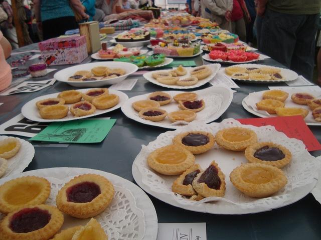 Heckington Village Fete  : Competition Tent
