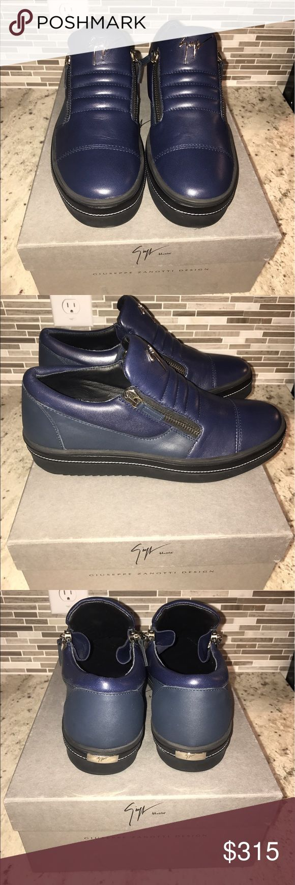Giuseppe Zanotti Two-Toned Men's Sneaker Brand New Condition. Box and dust bag included Giuseppe Zanotti Shoes Sneakers