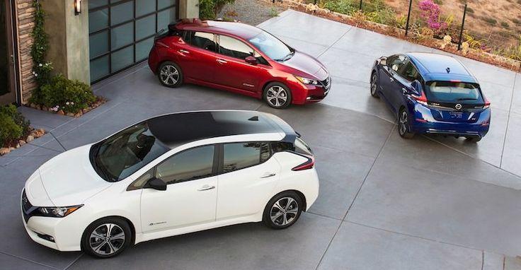 2018 nieuwe Nissan LEAF - Sept. 2017