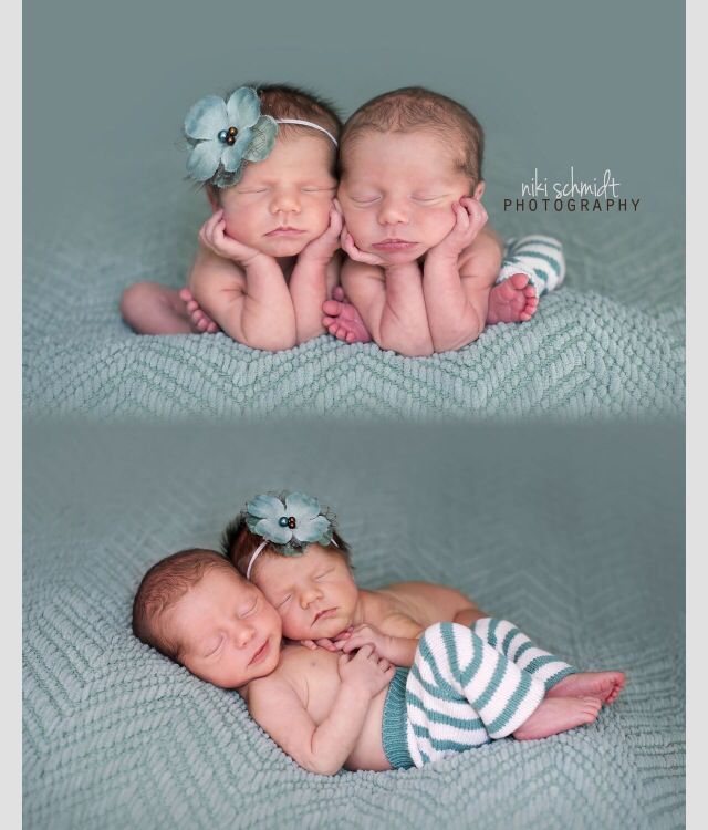 Baby Boy&Girl Twins Photography By Nikki