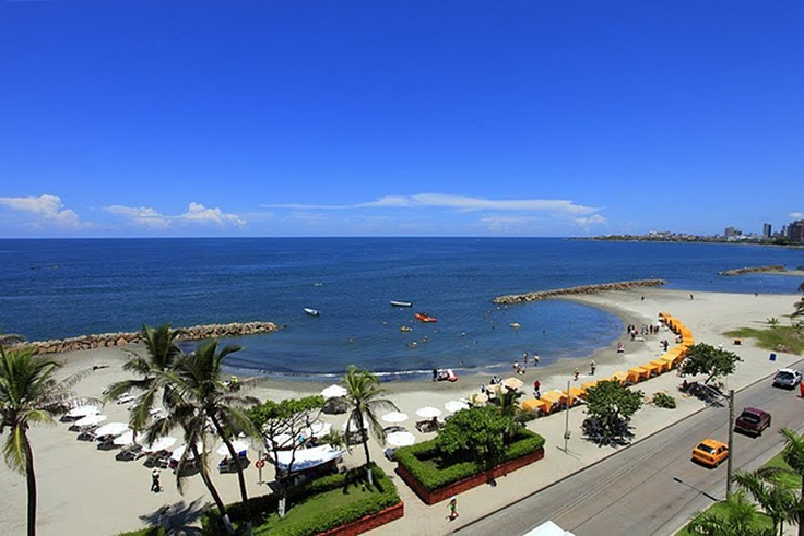 Playa Viejo Beach en Cartagena
