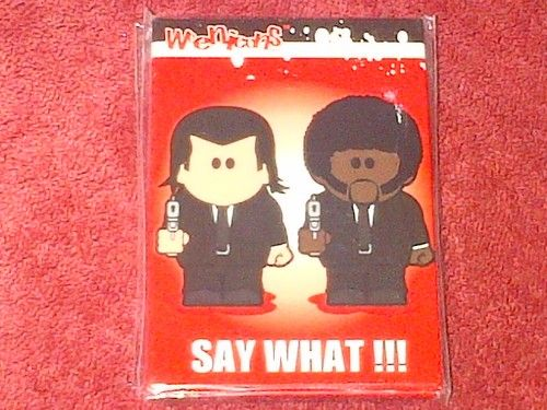 Weenicons Fridge Magnet Say What!! Pulp Fiction