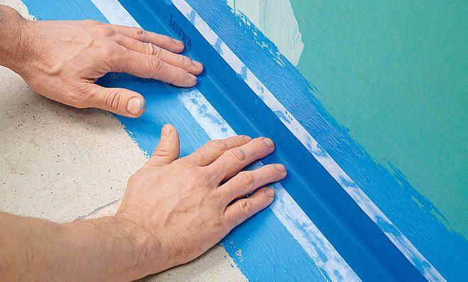 Dusche Abdichten Bad Wand Badsanierung Und Fliesenkleber