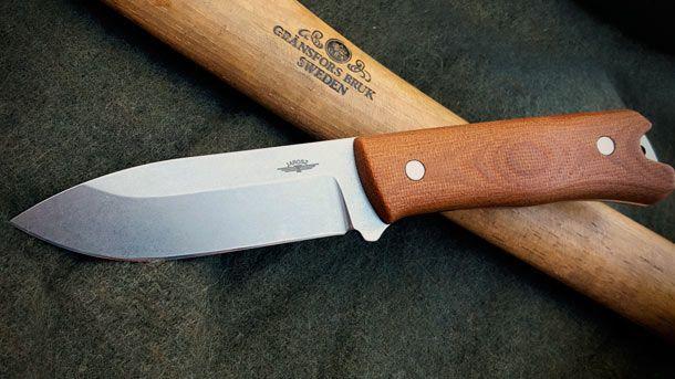 Jesse Jarosz представил новое поколение утилитарного полевого ножа Jarosz Woodsman