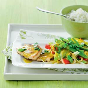 Pikante curry met bosui