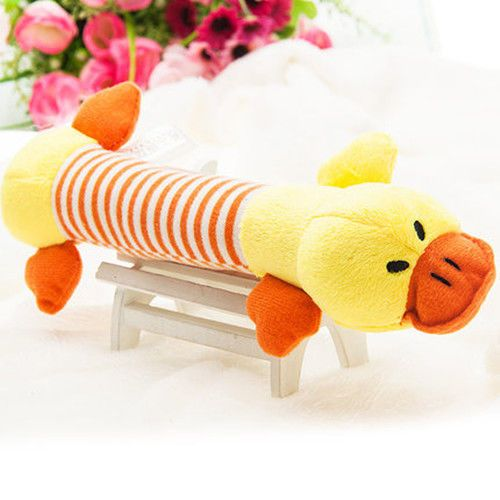 Pet-Puppy-Chew-Squeaker-Squeaky-Plush-Sound-Pig-Elephant-Duck-For-Dog-Sound-Toys